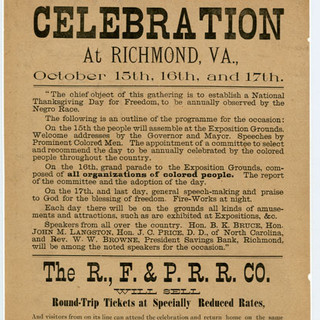 Celebration at Richmond