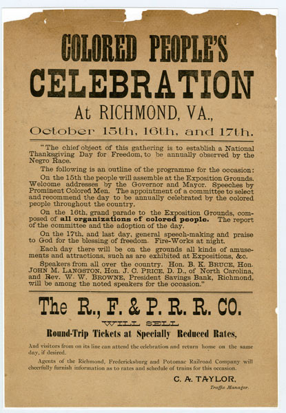 Celebration at Richmond