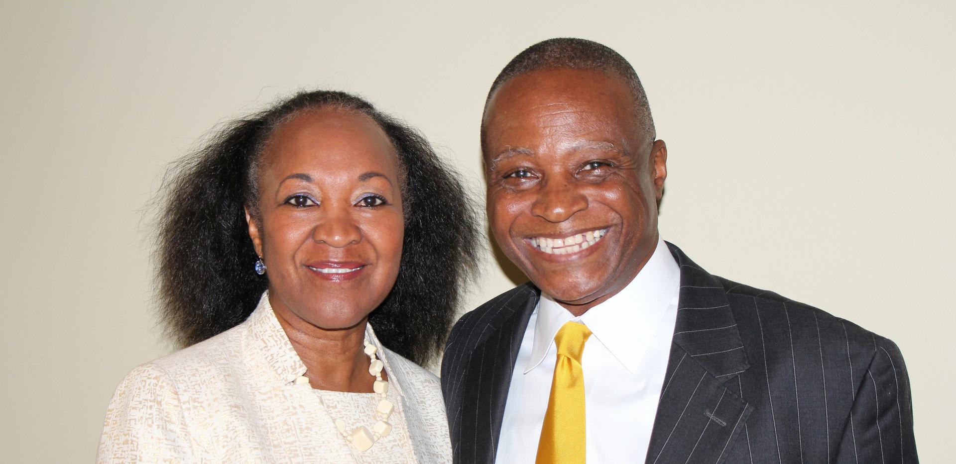 Dr. Theo and Katy Herrington