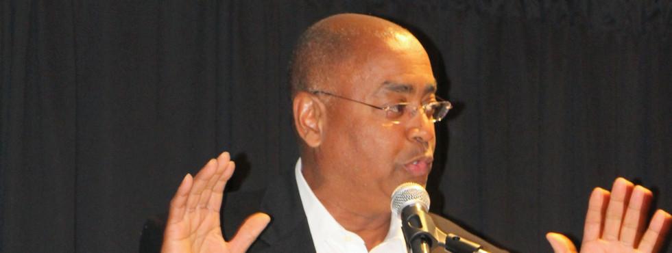 Harris County Commissioner Rodney Ellis