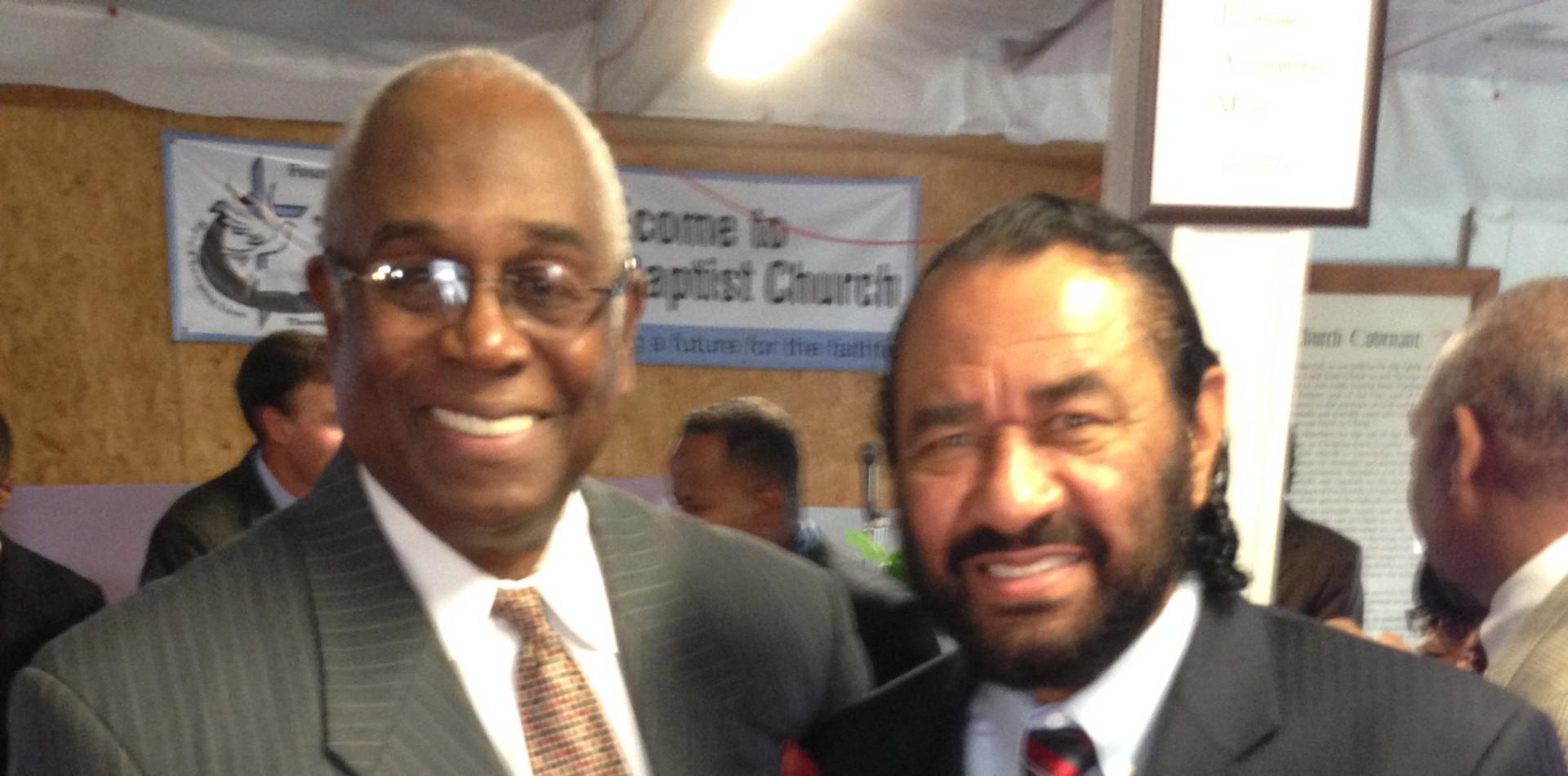 Don Smith & Congressman Al Green