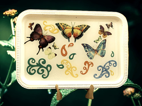 3D Butterfly Design  Tray 4
