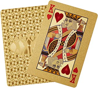 GOLD PLAYING CARDS 2