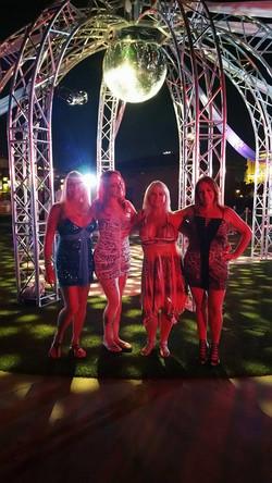 The Girls where hot