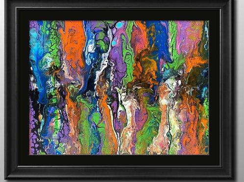 12 x 12 x 1   Acrylic Swipe