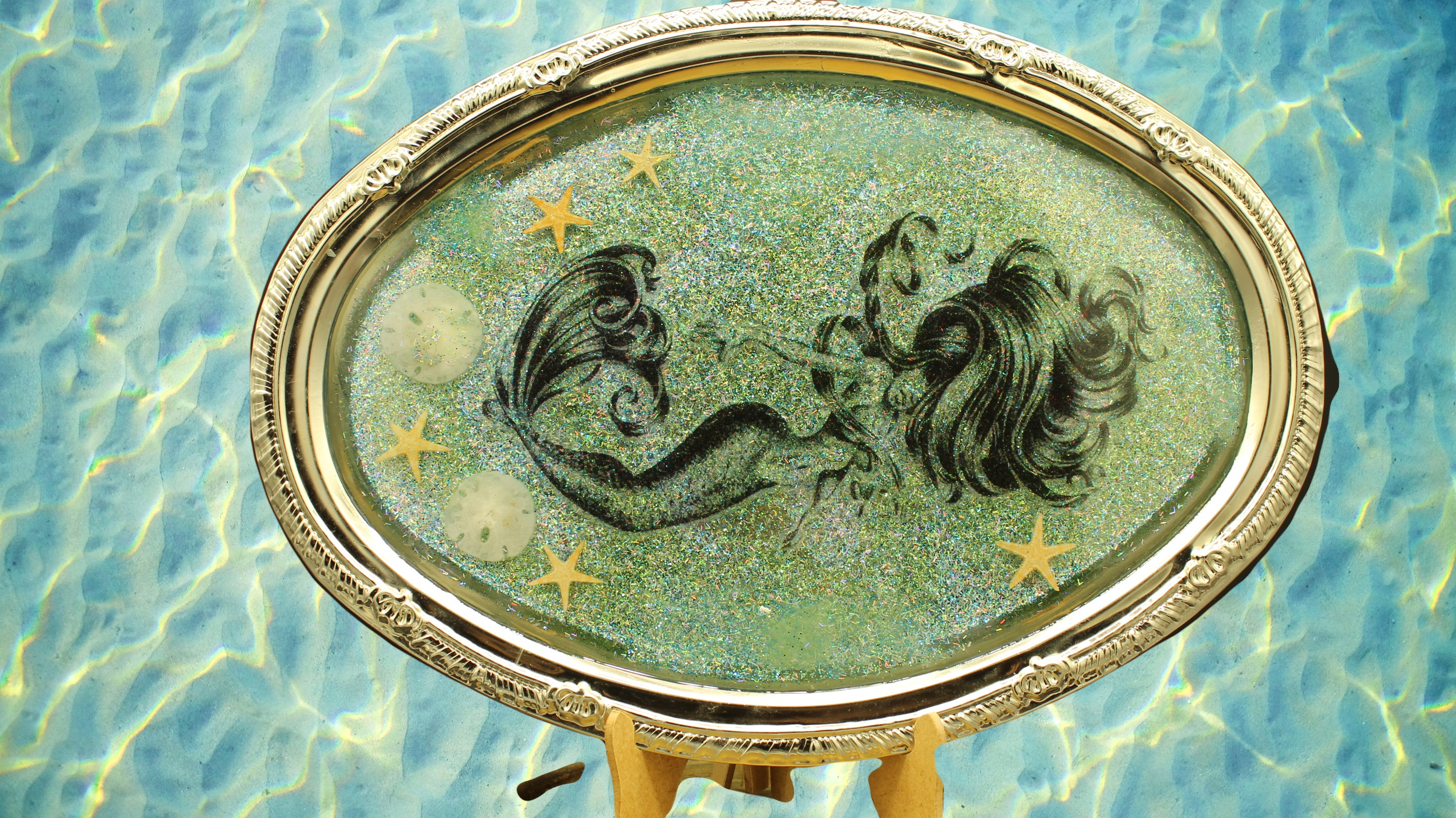 Mermaid tray