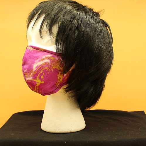 Pink Marble Face Mask
