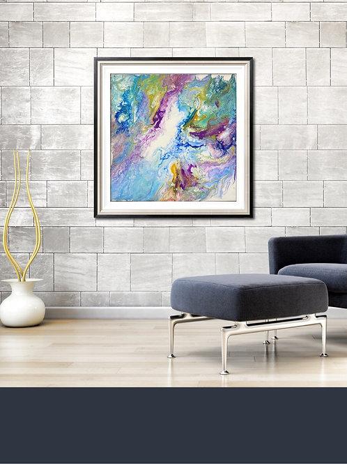 12 x 12 Acrylic Canvas Board