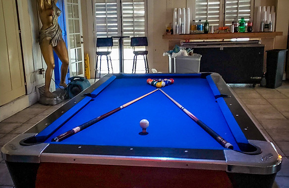 Pool Table too!