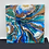 Thumbnail: 14 x 14 x 1  Geode Resin Painting w Crystals