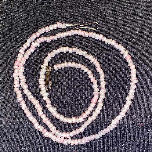 Mask Lanyard Pink Beads