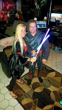 Jedi and donna