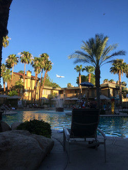 This is the pool at the hotel