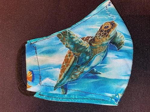 Sea Turtle with Aqua inside