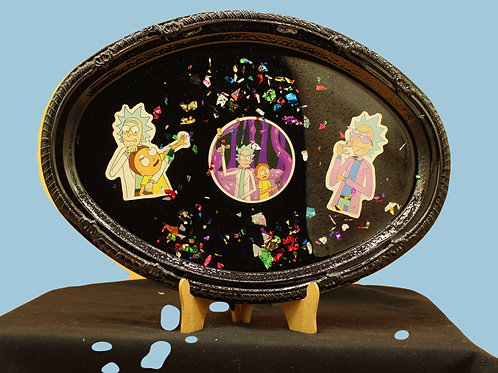 Rick n Morty Serving Tray