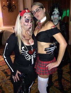 girls and halloween