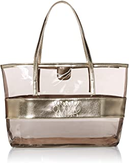 GOLD AND CLEAR PURSE