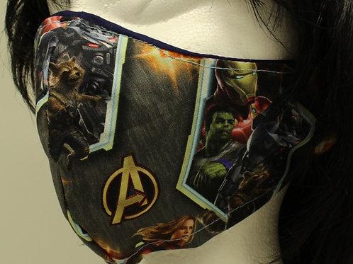 Avengers Hero Face Mask