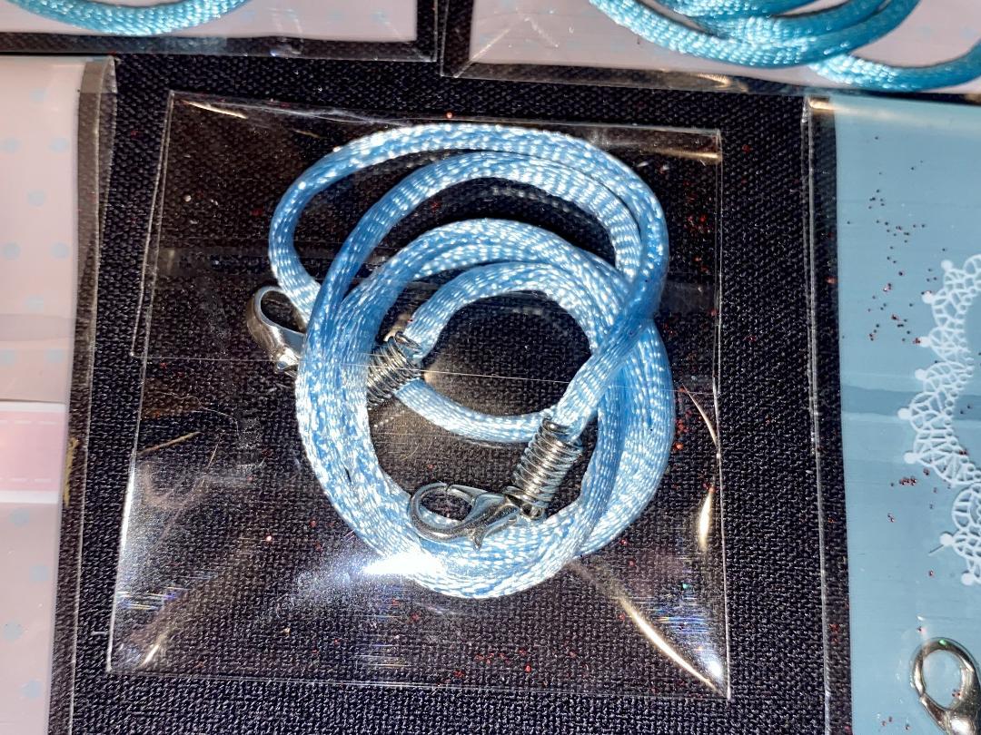 Lanyard Baby Blue 2