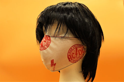 AC DC ADULT MASK REVERSIBLE