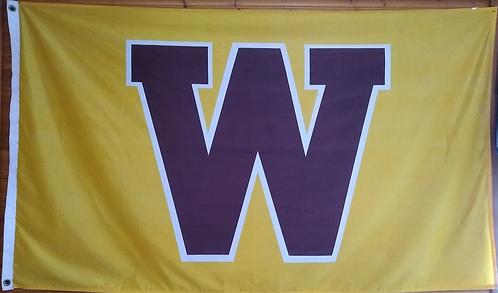 """""""W"""" Flag"""