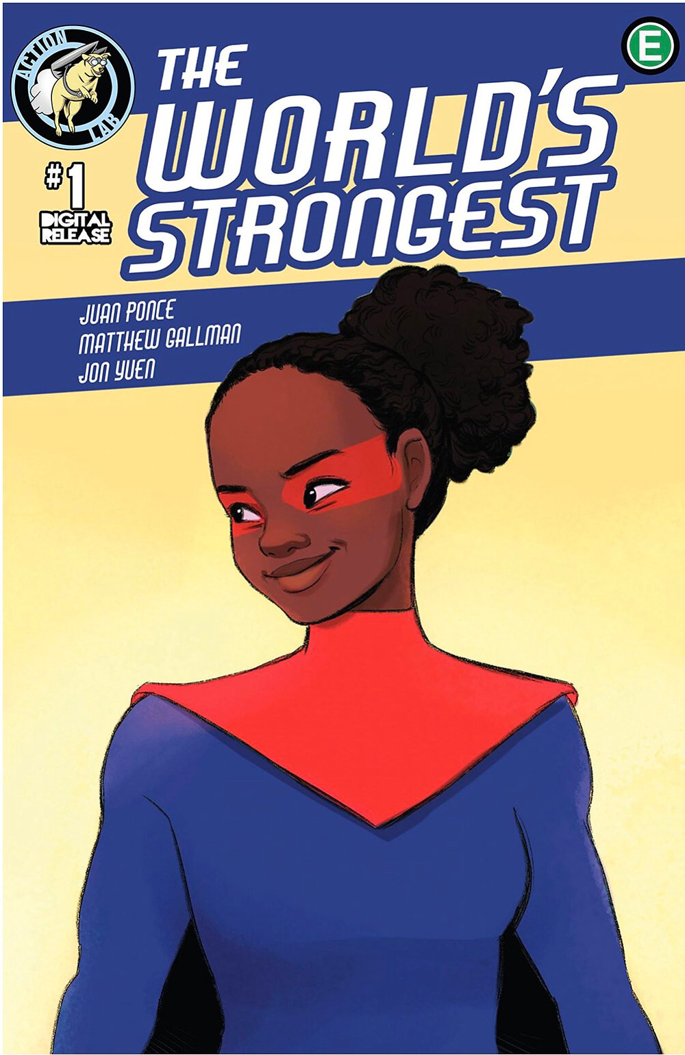 World's Strongest #1, Action Lab Ent. Cover by Beverly Johnson, Ponce/Gallman