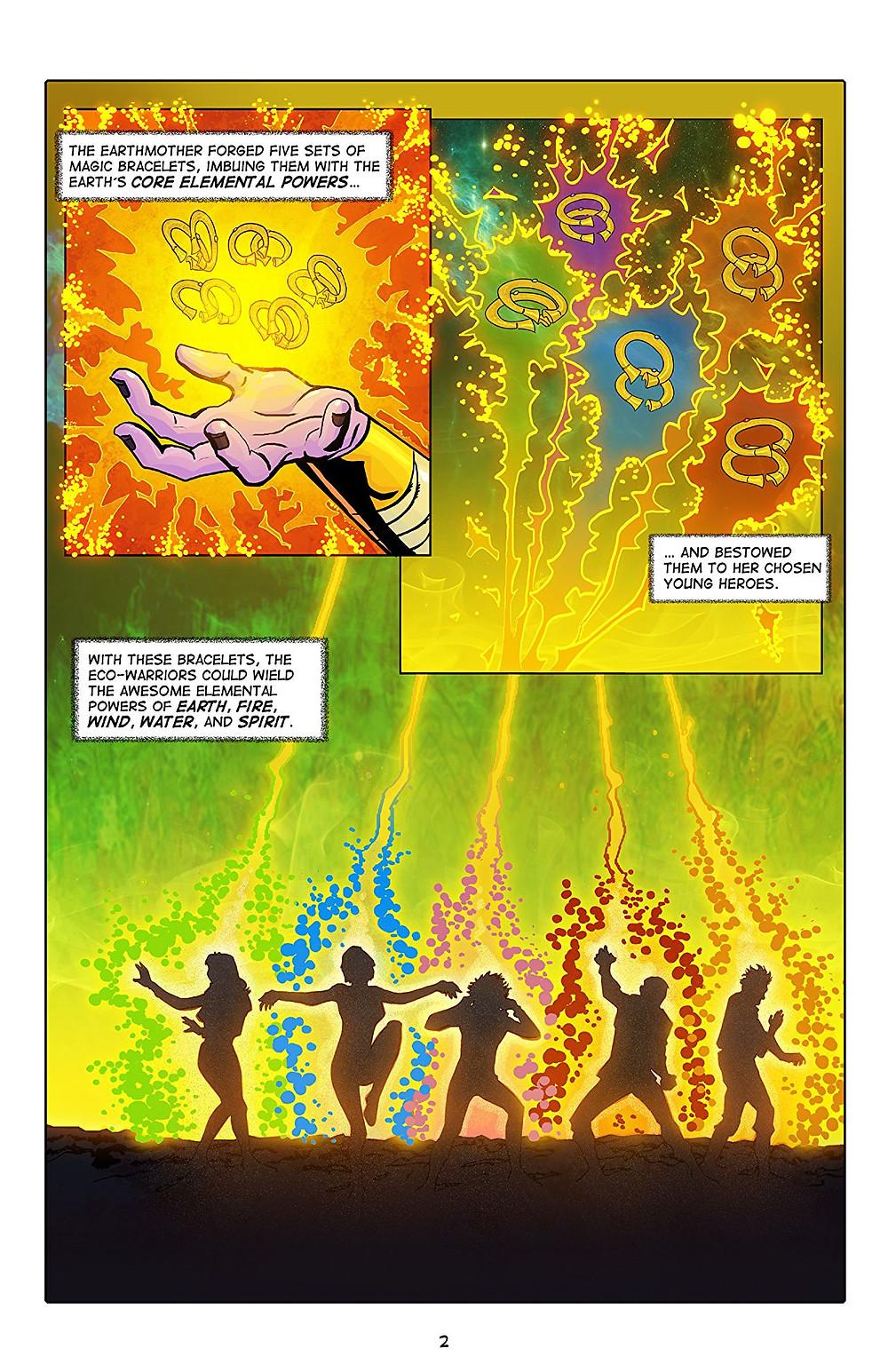 Gaia Webcomic captain gaia, issue #0
