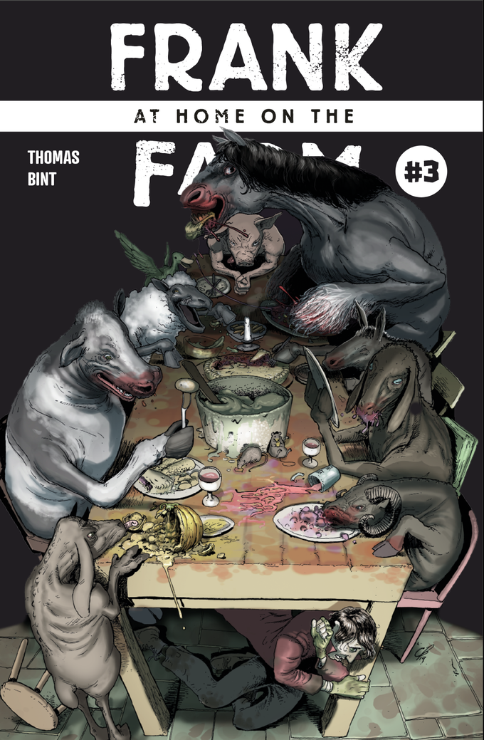 Frank at Home on the Farm #3, Cover by Clark Bint, Thomas/Bint
