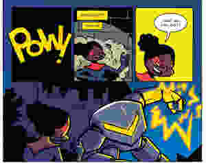 World's Strongest #1, Page 1, Action Lab Ent., Ponce/Gallman