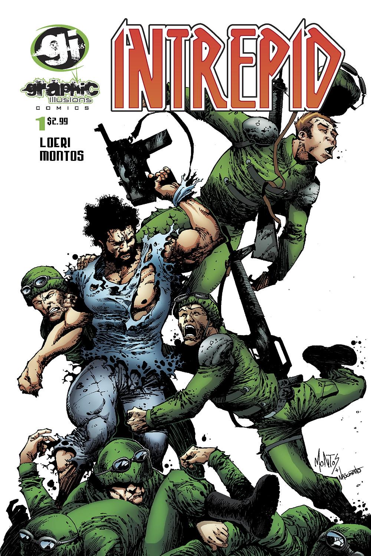 Intrepid, issue #1, Cover by Montos/Nascimiento, C3 Comics, Loeri/Montos