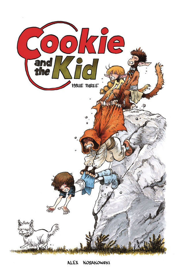 Cookie and the Kid #3, Kosakowski, Antarctic Press