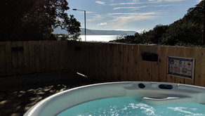 Did you know our house comes with a luxury hot tub