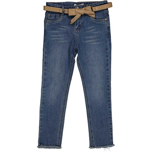 Try beyond τζιν παντελόνι με ζώνη