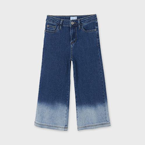 Mayoral παντελόνι τζιν ζιπ κιλοτ