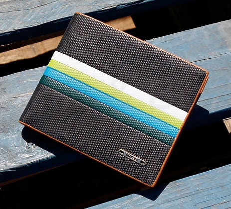 Men's Leather Wallet and ID Card Holder
