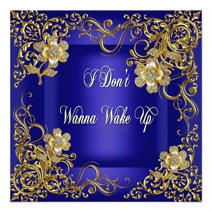 Musical Card - I Don't Wanna Wake Up