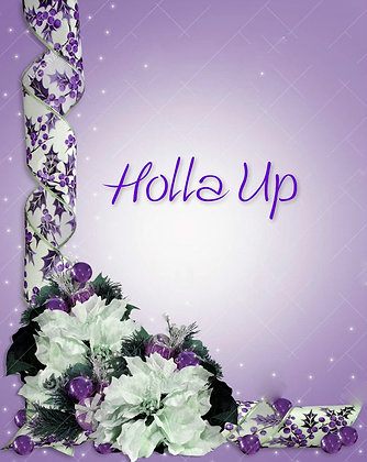 Musical Card - Holla Up