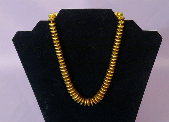 """16"""" Gold Tone Necklace"""