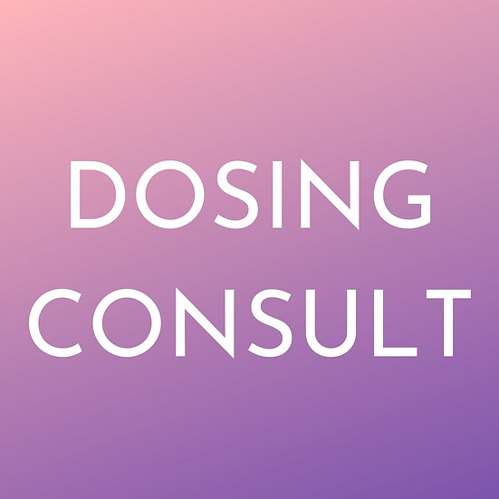 DOSING EXPERT CONSULTATION