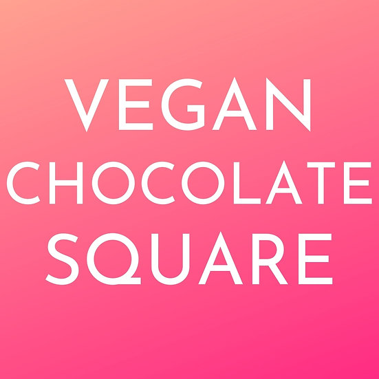Limited Edition.5G/500mg Vegan Chocolate Square