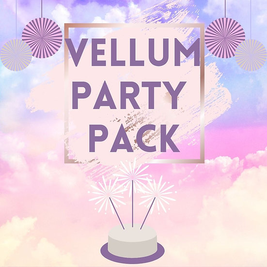 Vellum Party Pack