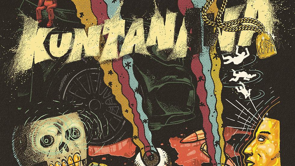 'KUNTANAWA' LIMITED Digipack CD Alternative cover by Saga Uno