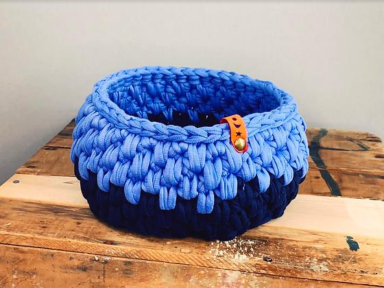 Two Blue Urchin Basket