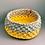 Thumbnail: Yellow Floral Urchin Basket