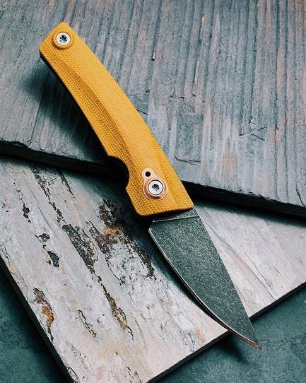 "Tonight's new knife!  AB4 - ""Copperhead"""