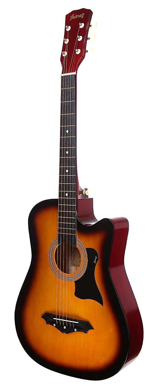 Amazon purchase link to JUAREZ JRZ38C Right Handed Acoustic Guitar