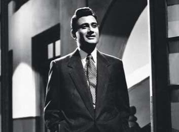 Dev anand in 'Ek Daur', 1960