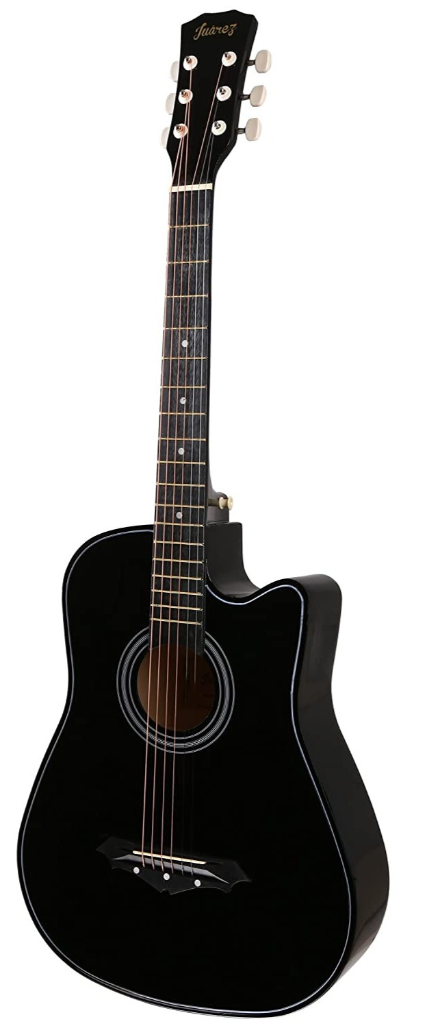 Amazon purchase link to Juârez Acoustic Guitar, 38 inch