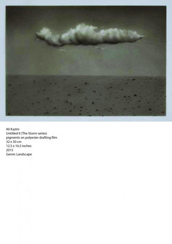 Ali-Kazim-Untitled-II-The-Storm-series-pigments-on-polyester-drafting-film-32-x-50-cm-2015-724x1024