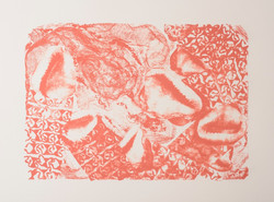 The Absent Dweller (I), Lithograph on paper, 55 x 70 cm, 2016